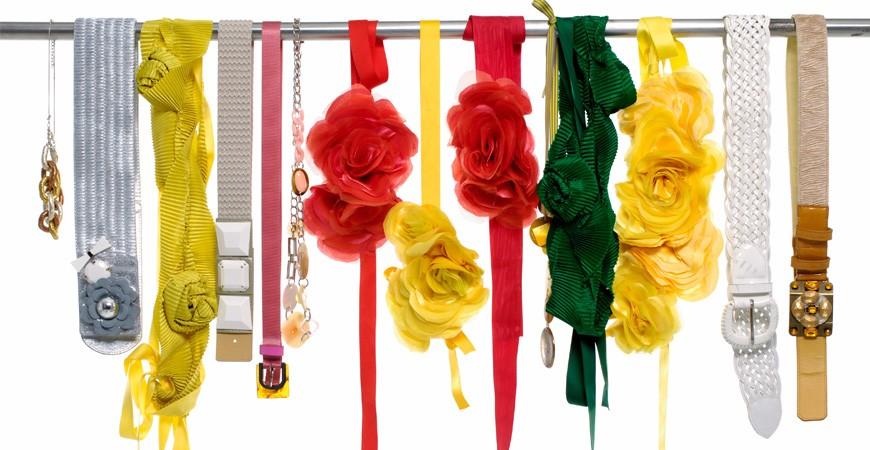 5 consejos para combinar cinturones de flores