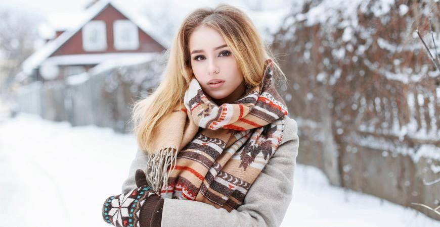 Bufandas de Invierno para Mujer