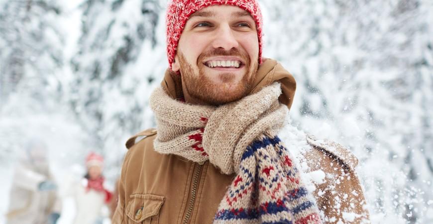 Bufandas y accesorios de invierno para Hombres