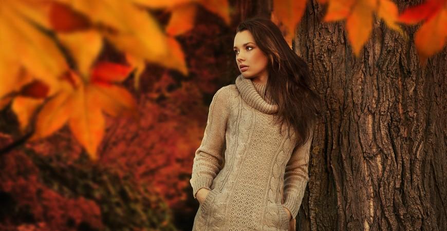 Moda otoño para mujer, complementos para el trabajo
