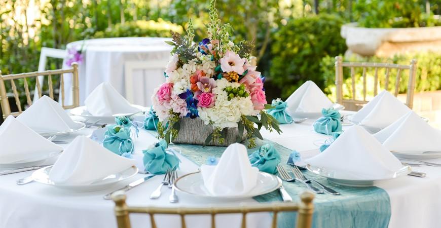 Decoraciones para una boda