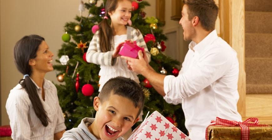 Compartir, es un regalo en familia