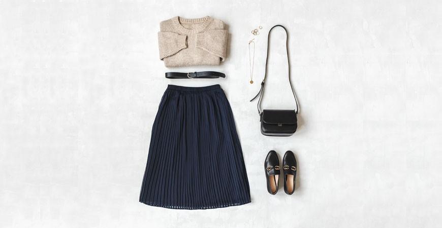 Combina tu faldas para este invierno